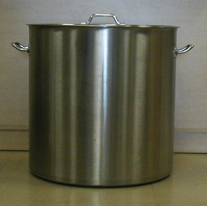 180 Quart Stainless Steel Super Extra Large Stock Pot Actual Size Is 176 5 Quarts 24 Inch Diameter By 34 Inches Deep
